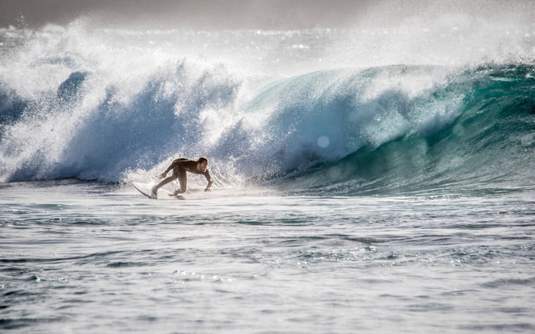 Un uomo, un'onda